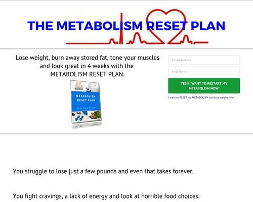 The Metabolism Reset Plan